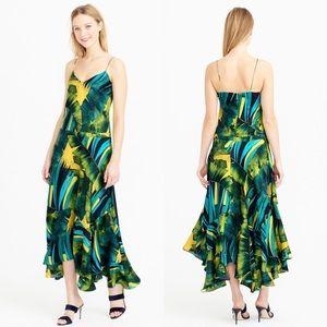 J. Crew Silk Jungle Dress